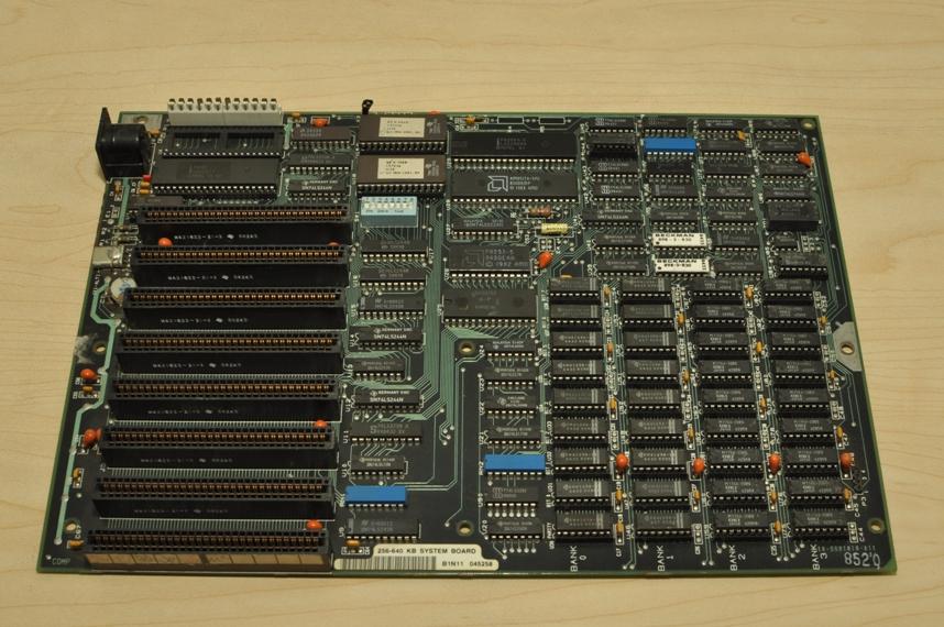 来看古董!486、8088主板芯片等电子元件 - wildgun - ???